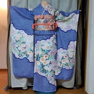 振り袖⑲、長襦袢、袋帯、小物セット