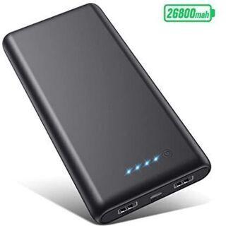 【新品未開封】モバイルバッテリー 26800mAh 大容量