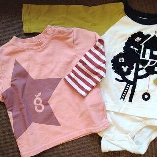 BabyGAP greenlabel 長袖Tシャツ ロンT 70cm