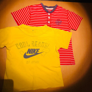 ナイキ&オシュコシュ 半袖Tシャツ 100サイズ 2枚セット