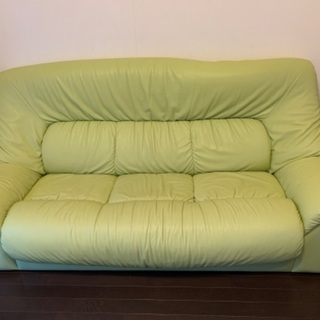 黄緑色 ソファー