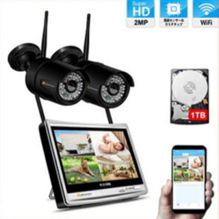 防犯カメラ・監視カメラ・不在時の安心見守りカメラ設置致します。
