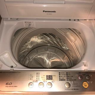 Panasonic 洗濯機のみ 2016年製NA-F60B10 ...