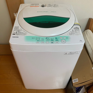 TOSHIBA製洗濯機 - 家電