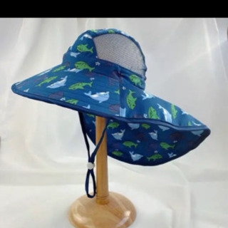 新品子供uvカット帽子 - 神戸市
