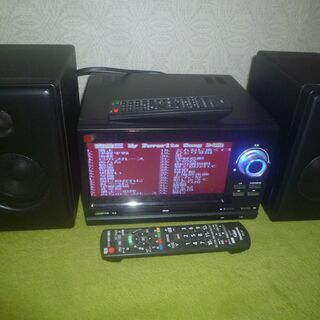 DVDプレイヤーステレオコンポ