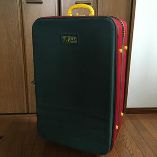 スーツケース マルチカラー レトロあげます