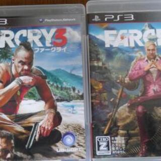 中古PS3ソフト  FAR CRY3、4の2枚組