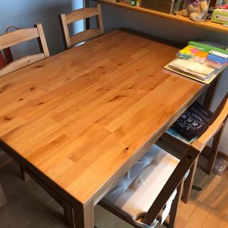 【IKEA】ダイニングテーブル【再掲】