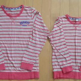 子供服 130cm&160cm 長袖Tシャツ