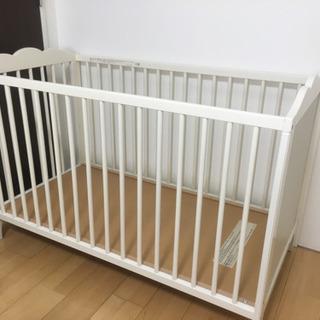 IKEAベビーベッド、デザイン性◎