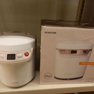 小型炊飯器 ライスクッカーミニ コイズミ KSC-1511 20...