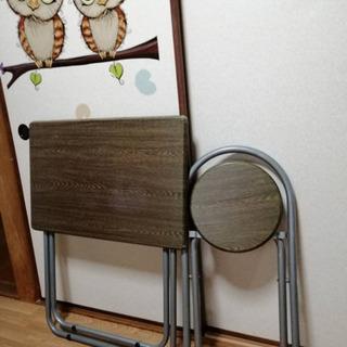 折り畳みデスク・椅子セットをお譲りします