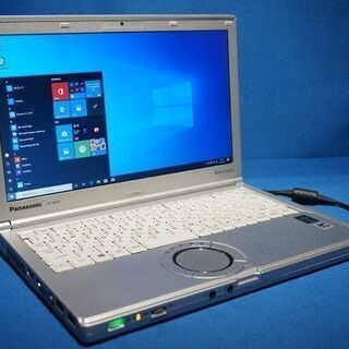パナソニック LetsNOTE改⑩ Core i5 SSD Win10