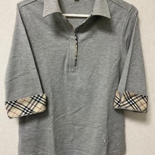 BURBERRY 七分丈 ポロシャツ 美品