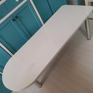 【値下げ】おしゃれな 白いテーブル