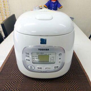 東芝 IH炊飯ジャー RC-5PHE5(3合炊き) 中古