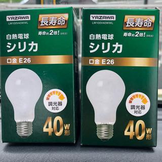 白熱電球 2個セット