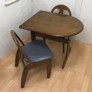 平田椅子製作所 テーブルセット イス2脚