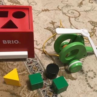 BRIO 木製 知育玩具 2点セット