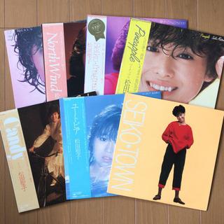 松田聖子 LP レコード7枚セット