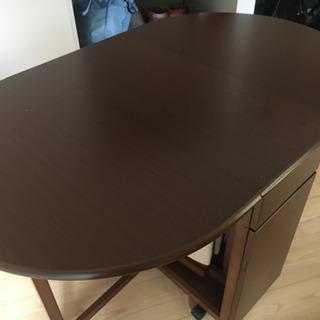 折り畳みテーブル&折り畳み椅子4脚