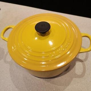 ル・クルーゼ22センチ両手鍋