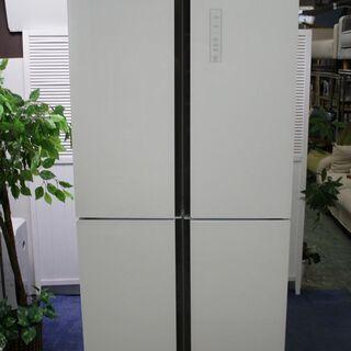 R2021) ハイアール 4ドア冷凍冷蔵庫 468L ガラストッ...