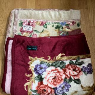 毛布 2枚 一枚500円
