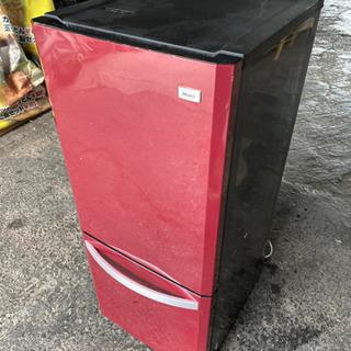 REDハイアール冷凍冷蔵庫JR-NF140H2014年製