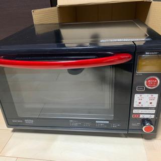 美品 トースターグリル オーブン機能付き 電子レンジ SHARP...