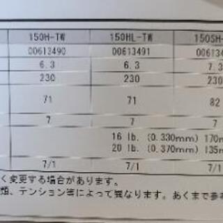 ダイワ タトゥーラ 右ハンドル HDカスタム 150H-TW - 売ります・あげます
