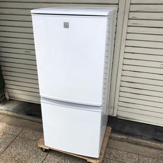 #4172 シャープ 137L 冷蔵庫 SJ14E4KW 2017年製
