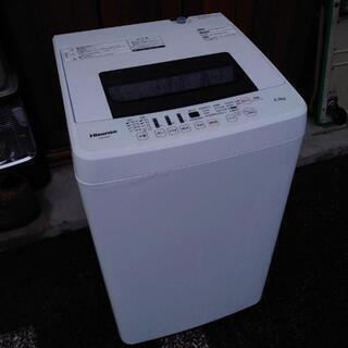 2016年製 ハイセンス 4.5kg 洗濯機