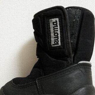 スノーブーツ(黒)13cm kuoma フィンランド製