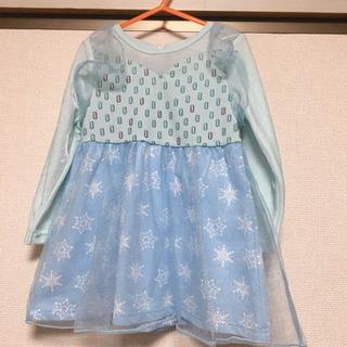 100cm アナ雪ドレス(試着のみ)