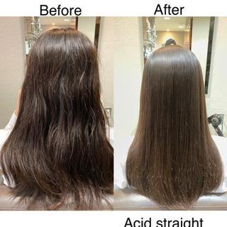 髪質改善アシッドストレートモデル募集10月6日