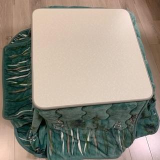 こたつ ローテーブル かけ布団もよければ一緒に 65cm正方形 ...