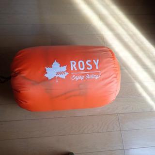 ロゴス 丸洗いOK 寝袋 ROSY シュラフ 最低使用温度6度