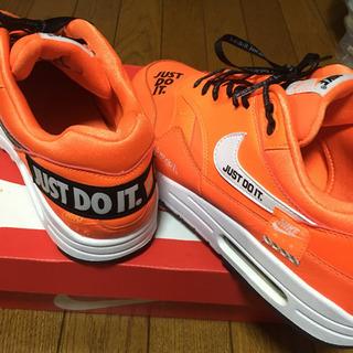 NIKE エアマックス Just Do It 限定 オレンジ 27.5 美品 - 靴/バッグ