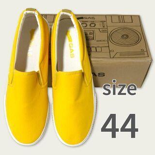 靴28.5cm 新品 キャンバス素材 イエロー