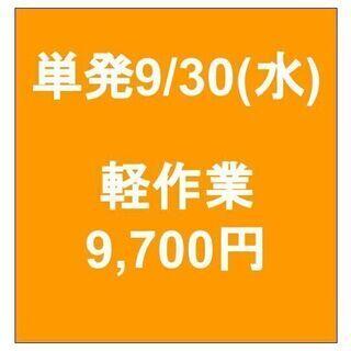 【急募】 09月30日/単発/日払い/川崎区:物流センター内で倉...