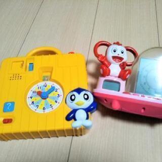 ベネッセ知育玩具セット(時計)