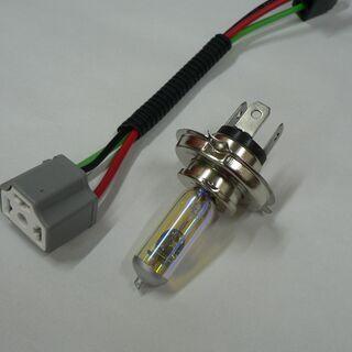 ヘッドライトバルブ、ハーネス付(GSX250E)新品