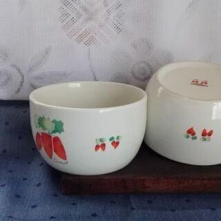 陶器 保存容器2個組 【ムベのキッチン】カスピ海ヨーグルト