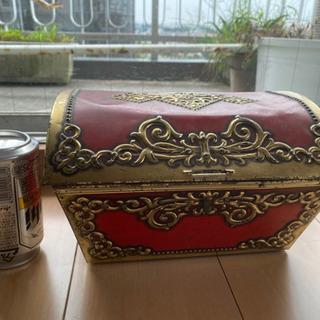 昭和レトロ品 おもちゃ箱 宝箱
