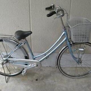 〔中古〕ブリヂストン製26インチ自転車(内装3段・オーとライト付き)