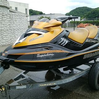 一時的に受け付中止します★水上バイク シードゥーRXT215  ...