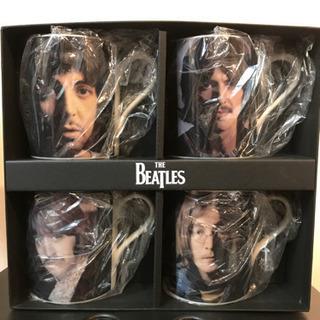 The Beatles メンバーマグ4点セット
