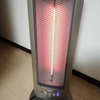 モリタ 遠赤外線電気ストーブ   チャコール ヒーター イオン